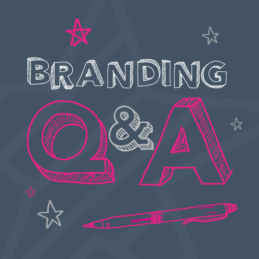 brand strategy Q and A image